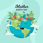 地球日绿化矢量