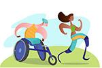 残疾运动员