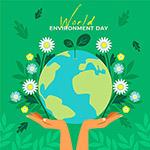世界环境日矢量