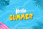 夏天你好海报