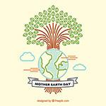 地球与树木环保