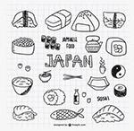 美味日本料理矢量