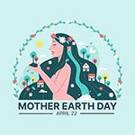地球母亲日环保女神