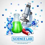 科学实验室概念