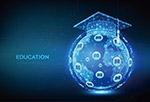 教育科技展板背景
