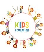 儿童教育矢量