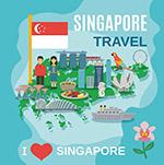 新加坡旅游海报