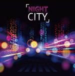 城市夜景模糊背景
