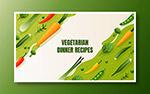 健康果蔬矢量海报