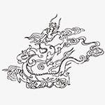 中国龙图案