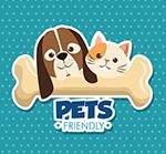 狗和猫吉祥物