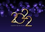 2022紫色梦幻矢量背景