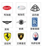 世界顶级车车标