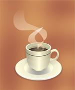 咖啡热饮矢量