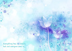 花朵水彩插画