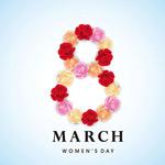 38妇女节花朵