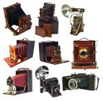 复古照相机素材