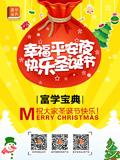富学宝典圣诞海报