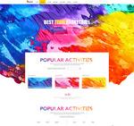 涂料企业网页