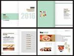 蛋糕店宣传画册