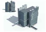 商业大厦3D模型