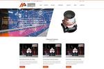 机械网页模板
