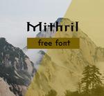 Mithril字体