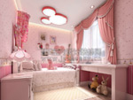 公主卧室模型