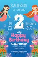 儿童生日派对海报