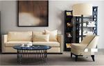 客厅沙发模型