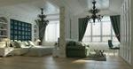 欧式卧房模型