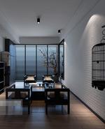 艺术茶室模型