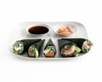美味的寿司模型