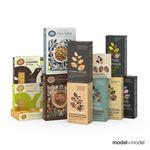 食品纸盒包装模型