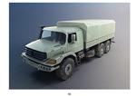 军用货车模型