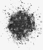 黑白渲染效果图