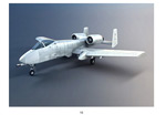 小型飞机模型