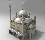 清真寺建筑模型
