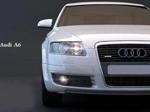 奥迪a6汽车模型