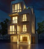 三层别墅模型