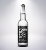 透明酒瓶样机