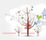 长出心形的树木
