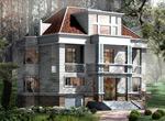 建筑别墅模型