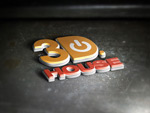 3D立体logo样机