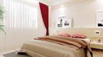 简洁卧室模型