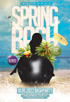 春季旅游派对海报
