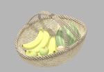 一篮水果模型
