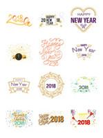2018艺术字