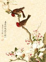 中国风花鸟画