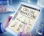 在线市场营销图片